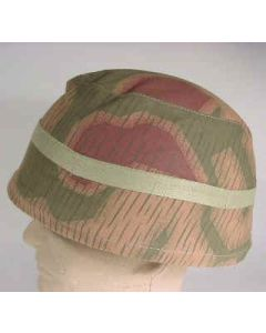 HELMET COVER FALLSCHIRMJAGER TAN WATER PATTERN