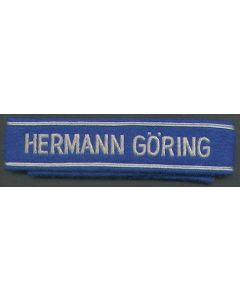 HERMANN GORING NCO CUFF TITLE.