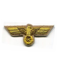 A. HITLER CAP EAGLE BULLION GoldTan