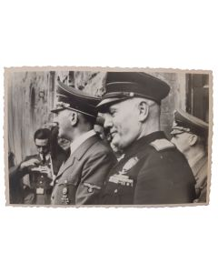 GERMAN WWII RARE PHOTO OF ADOLPH HILTER AND FRIENDS