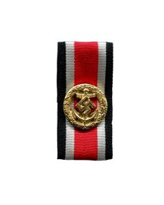 GERMAN NAVY HONOR ROLL CLASP WITH RIBBON