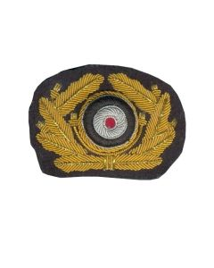 GERMAN ARMY GENERAL CAP WREATH GOLD ww2