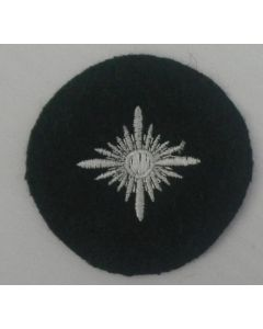 GERMAN ARMY OBERSCHUTZE RANK PIP IN FIELD GRAY CLOTH