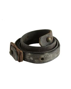 YUGOSLAVIAN M48 K98 8MM MAUSER LEATHER RIFLE SLING