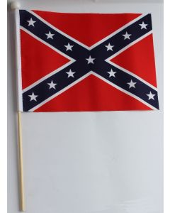 AMERICAN CONFEDERATE HAND HELD FLAG