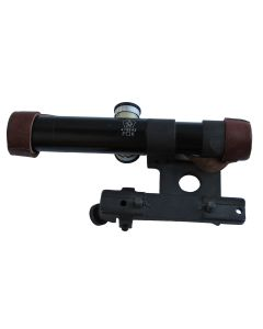 RUSSIAN PU MOSIN-NAGANT SVT-40 SNIPER RIFLE SCOPE MATTE BLACK WITH MOUNT