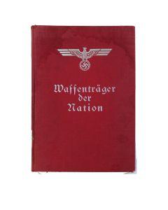 WAFFENTRAGER DER NATION BOOK 1934 HARDCOVER