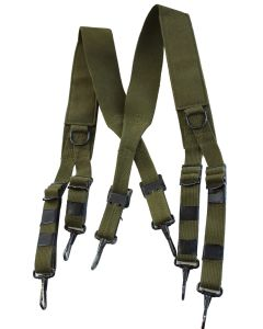 US M1936 OD7 GREEN FIELD SUSPENDERS or M43 SUSPENDERS