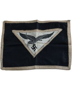 GERMAN WWII LUFTWAFFE DESK FLAG PENNANT