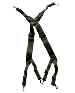US WW2 M1945 SUSPENDERS OD7 GREEN