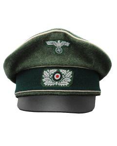 GERMAN WW2 HEER NCO/EM CRUSHER CAP