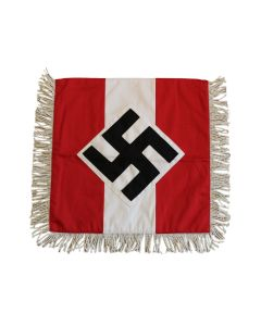 WW2 GERMAN HITLER YOUTH TRUMPET BANNER