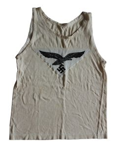 GERMAN WWII LUFTWAFFE SPORTS SHIRT VEST ORIGINAL