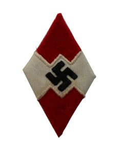HITLER YOUTH DIAMOND SLEEVE PATCH