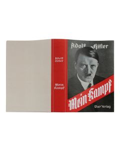 "DUST JACKET FOR ADOLF HITLER'S BOOK ""MEIN KAMPF"""