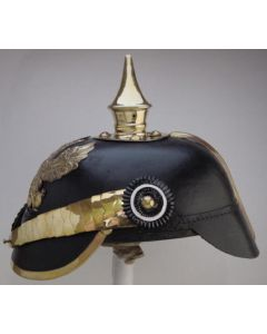 IMPERIAL GERMAN WW1 PRUSSIAN OFFICER SPIKE HELMET