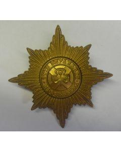 BRITISH - IRISH GUARDS CAP BADGE WW2