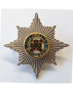 IRISH GUARDS OFFICER CAP BADGE