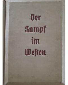 DER KAMPF IM WESTEN;THIRD REICH 3-D BOOK