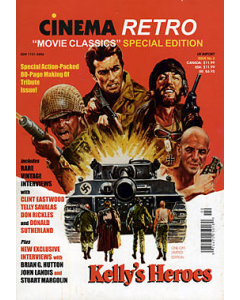 KELLY'S HEROES CINEMA RETRO MOVIE CLASSICS SPECIAL EDITION
