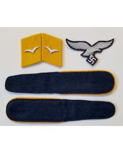 LUFTWAFFE ENLISTED MAN INSIGNIA SET