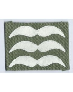 LUFTWAFFE FELDWEBEL SLEEVE RANKS FOR GERMAN PARATROOPER JUMP SMOCKS