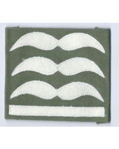 LUFTWAFFE HAUPTMANN SLEEVE RANKS FOR JUMP SMOCKS