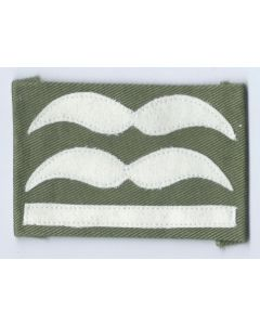 LUFTWAFFE OBERLEUTNANT SLEEVE RANKS FOR JUMP SMOCKS