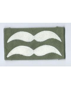 LUFTWAFFE UNTERFELDWEBEL SLEEVE RANKS FOR JUMP SMOCKS