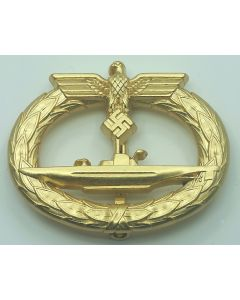 WW2 GERMAN SUBMARINE WARFARE BADGE U-BOAT
