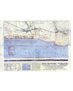 MAP OMAHA BEACH-WEST ( VIERVILLE-SUR-MER)