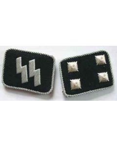 SS-STURMBANNFUHRER (Major) OFFICER COLLAR TABS