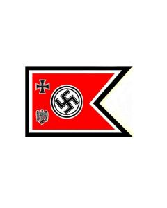 GERMAN NAZI FLAG OF THE CHIEF OF THE HIGH COMMAND OF THE ARMED FORCES 1938-1941
