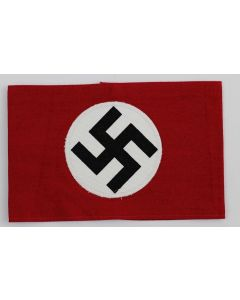 NAZI SA COTTON ARM BAND WITH SWASTICA