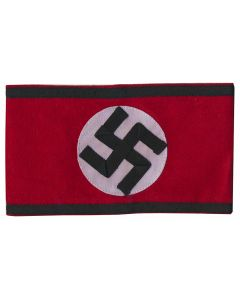 NAZI SS WOOL ARM BAND WITH SWASTICA