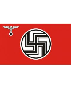 GERMAN NAZI STATE FLAG AND ENSIGN ( REICHSDIENSTFLAGGE) 1935-1945