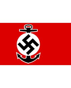 GERMAN NAZI WATER SPORTS FLAG