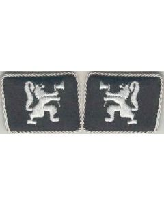 LEGION NORWEGEN FOREIGN VOLUNTEER UNIT  OFFICER COLLAR TABS