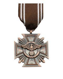 NSDAP FAITHFUL SERVICE DECORATION 3RD CLASS FOR TEN YEARS SERVICE