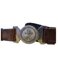 WWII IMPERIAL JAPANESE NAVY OFFICER BELT NCO LATE WAR