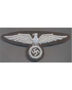 GERMAN SS OFFICER SLEEVE EAGLE  FIRST PATTERN BULLION