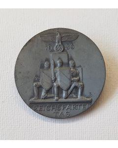 1936 REICHSPARTEI TAG TINNIE