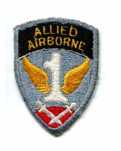 ORIGINAL 1ST ALLIED AIRBORNE ARMY PATCH