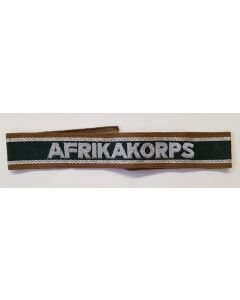 "GERMAN ""AFRIKAKORPS"" CUFFTITLE"