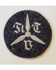 GERMAN LUFTWAFFE FORMER MILITARY STUDENTS TRADE PATCH