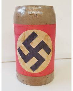 GERMAN NAZI 1920 BEER STEIN ORIGINAL