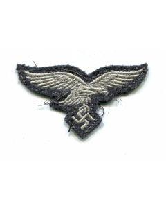 ORIGINAL WW2 GERMAN LUFTWAFFE M43 EM CLOTH CAP EAGLE