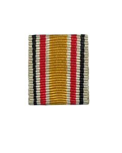 GERMAN BADEN WAR SERVICE RIBBON BAR 2ND VERSION - ORIGINAL