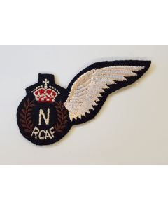 RCAF - WWII ROYAL CANADIAN AIR FORCE NAVIGATOR'S (N) PILOT WING
