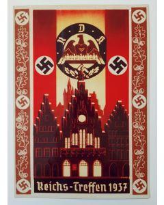 REICHA-TREFFEN 1937 METAL SIGN